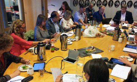 Utvalg for miljø og utvikling i Kongsberg behandlet forslaget til reguleringsplan i sitt møte 26. juni 2017. Nå er planen sendt ut på høring.